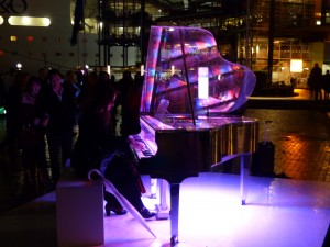 Piano Installation during Vivid Sydney 2013