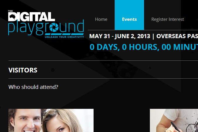 The Digital Playground Screenshot