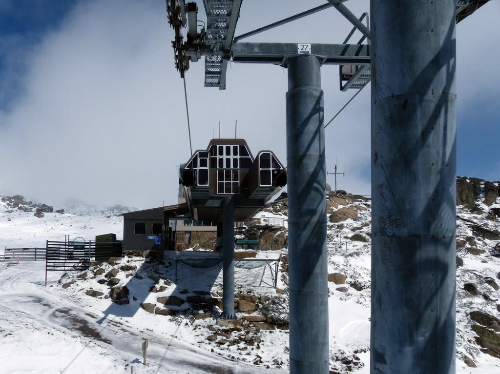 Skilift zum Kosciuszko in Thredbo