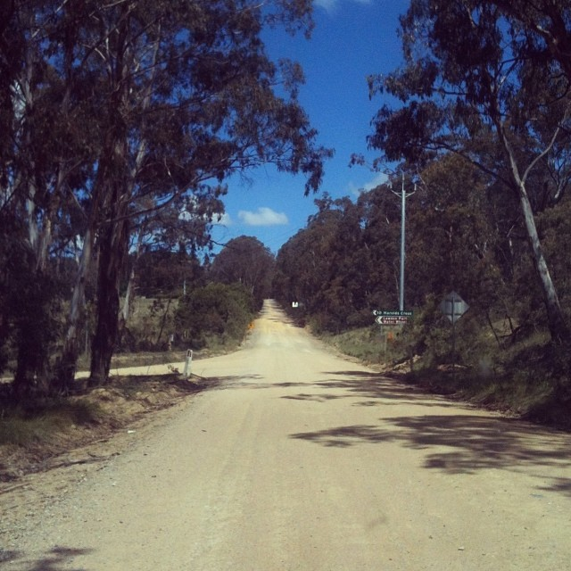 Gravel Road in Australien