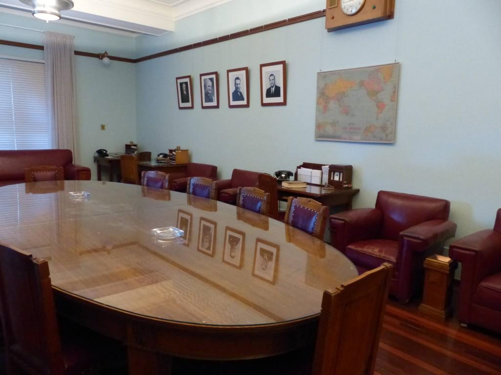 Innenansicht Altes Parlament in Canberra, Australien