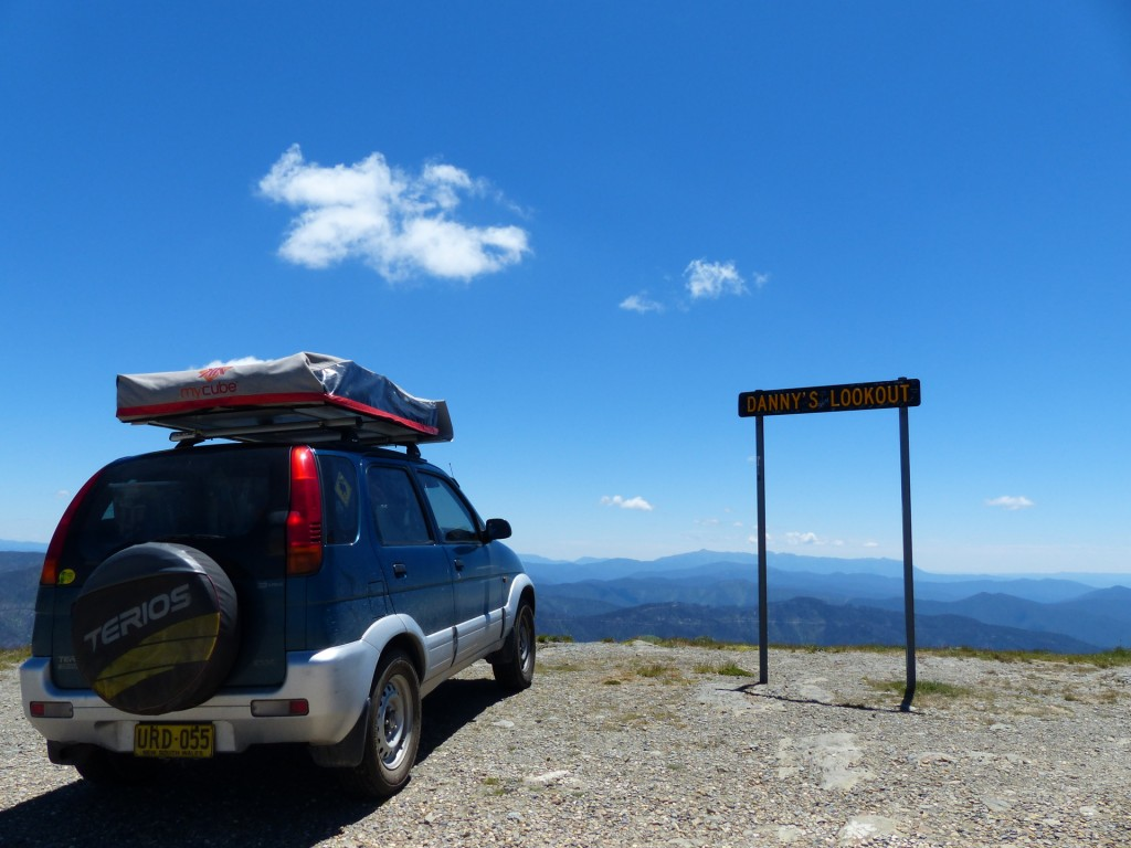 Urd auf  der Great Alpine Road in Australien