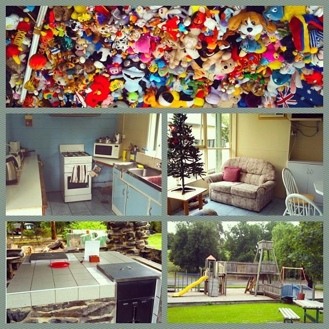 instagram Collage vom Korumburra Tourist Park