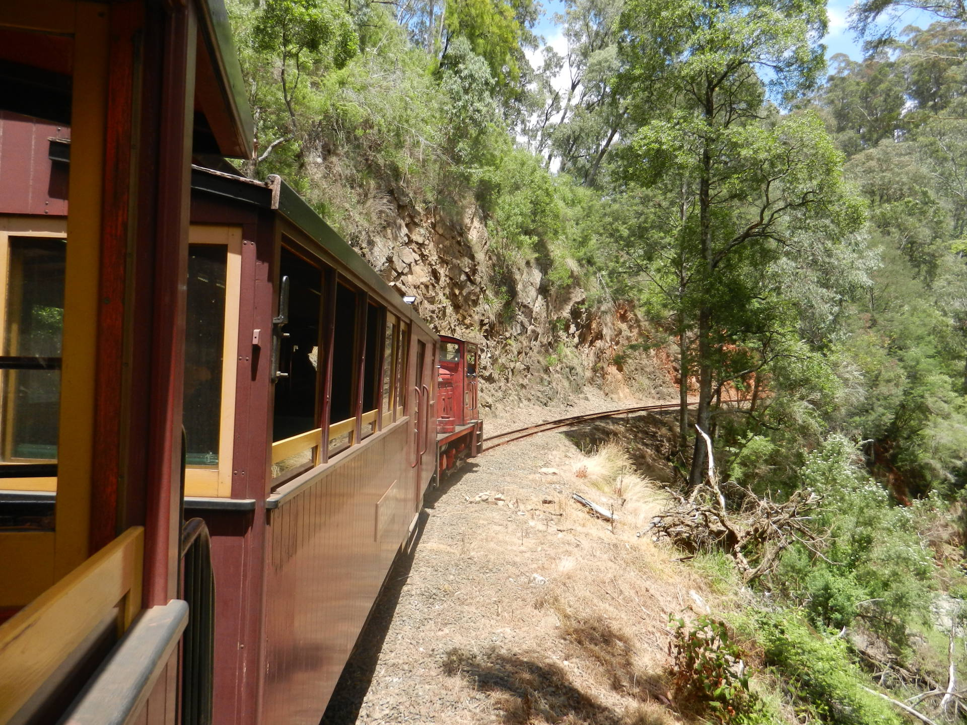 Walhalla Goldfields Railway, Australien