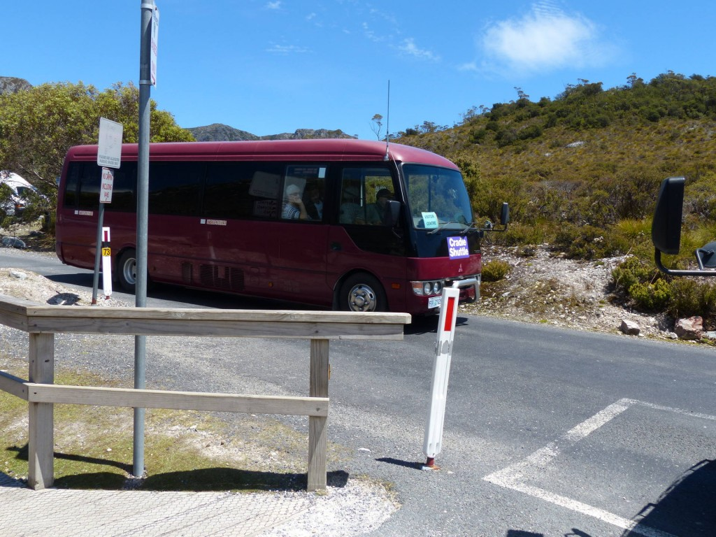 Cradle Mountain Shuttle Bus