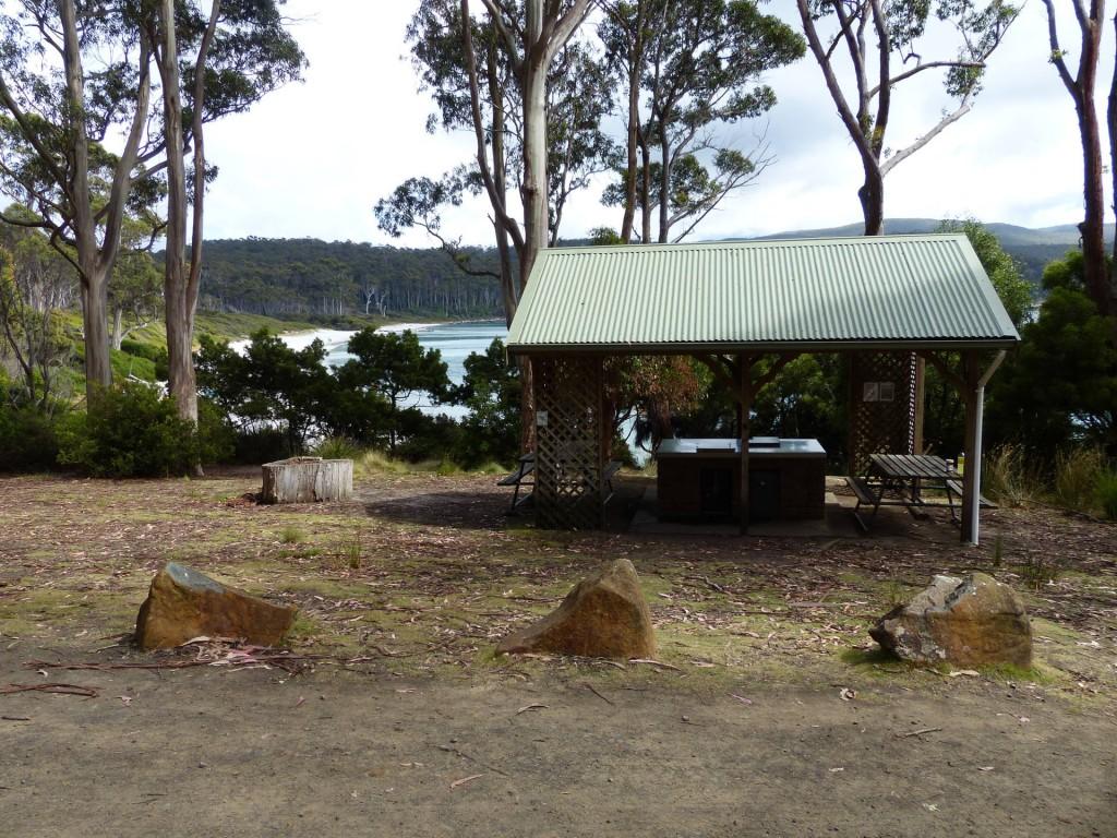Fortescue Bay Campground, Tasmanien