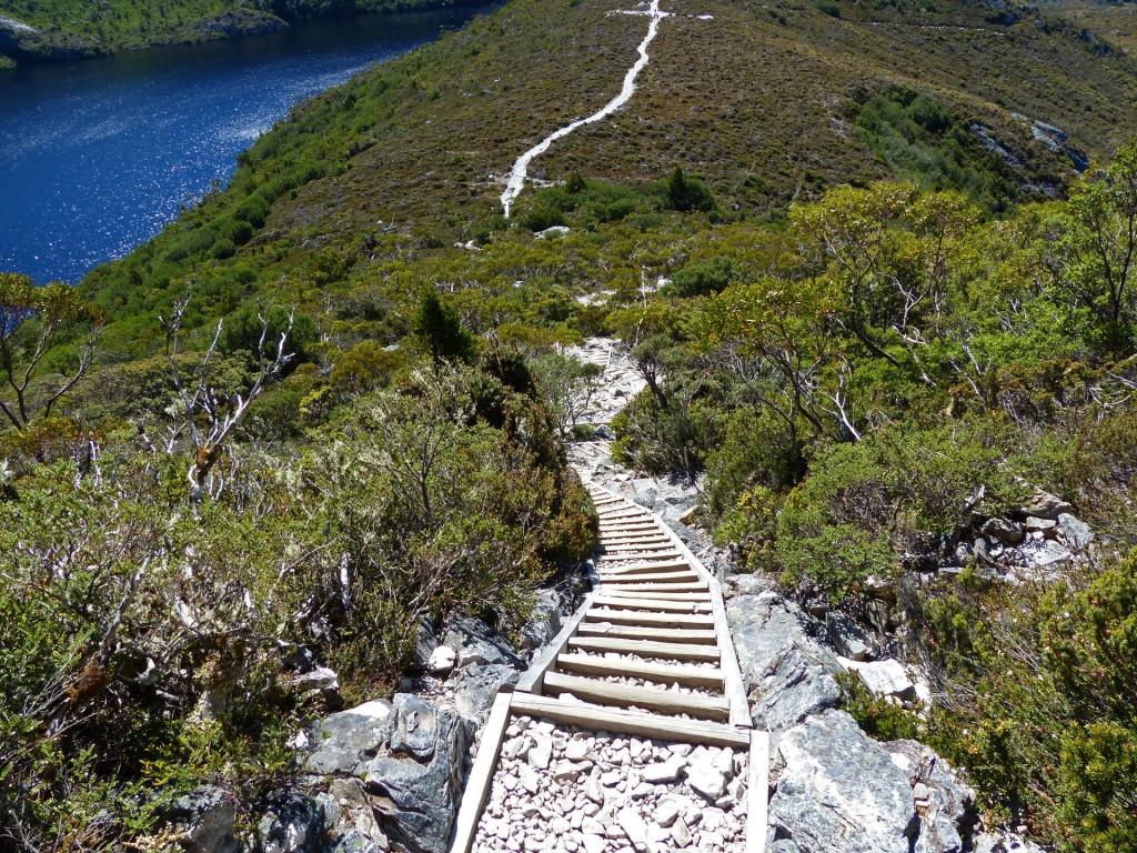 Stufen zum Marions Lookout