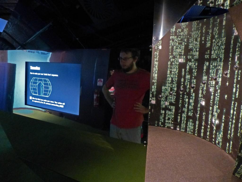 Matrix Move Generator im ACMI Melbourne