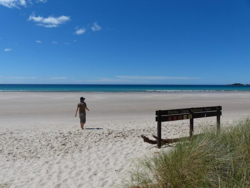 Sisters Beach, Tasmanien