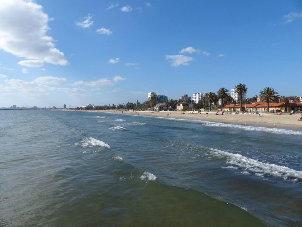 St Kildas Beach Melbourne