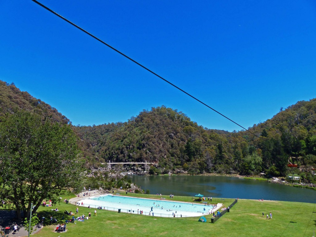 Cataract Gorge und First Basin, Lanceston