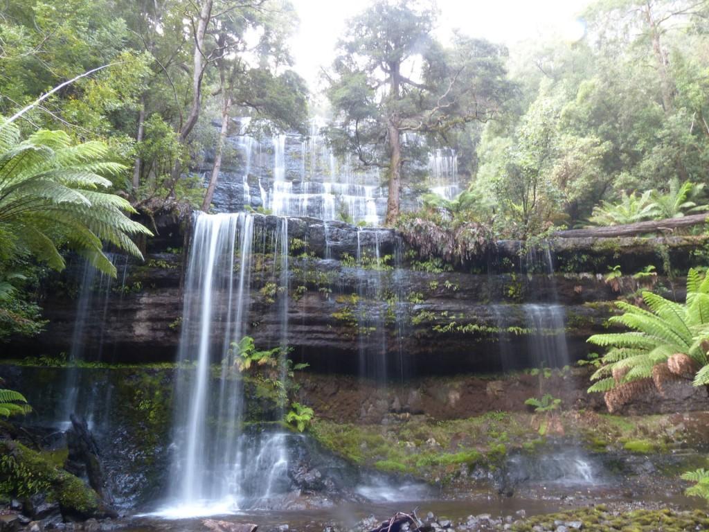 Russel Falls Wasserfall, Tasmanien