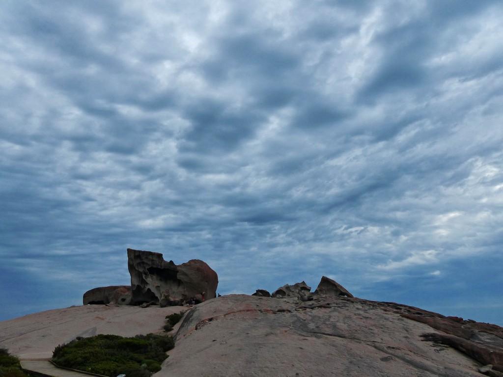 The Remarkable Rocks aus der Ferne