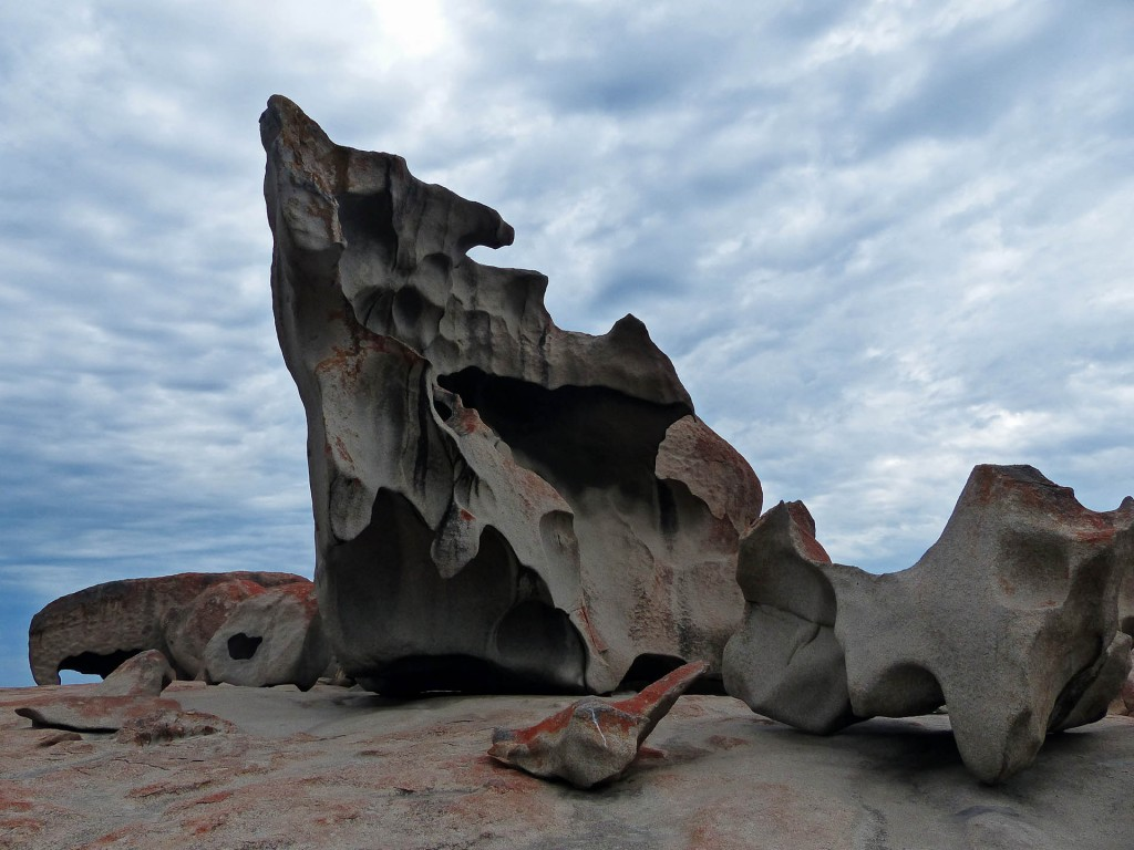 The Remarkable Rocks von nahem