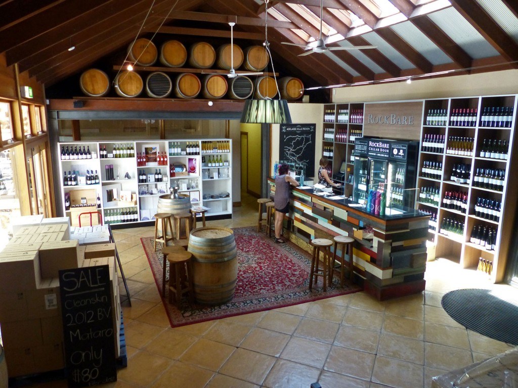 Cellar Door mit Winetasting von RockBar in Hahndorf