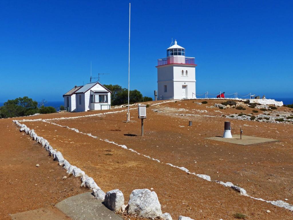 Cape Borda Leuchtturm Totale, Kangaroo Island