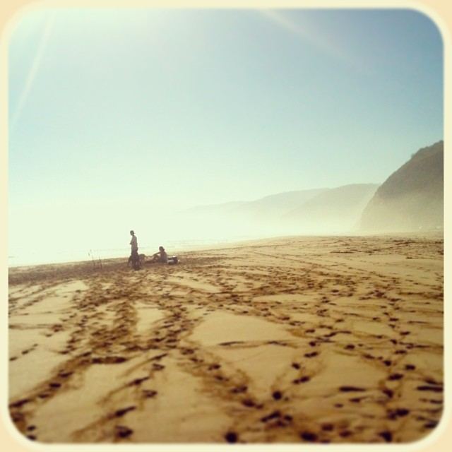 instagram, Strand am Johanna Beach Campground