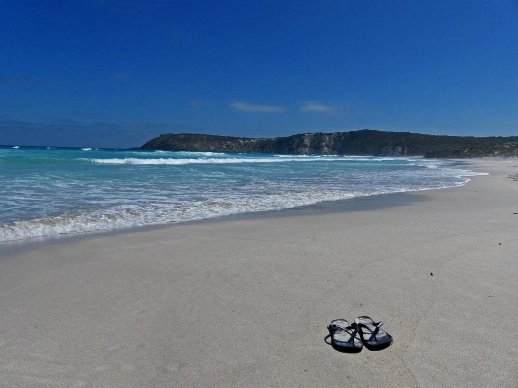 Strand von Pennington Bay
